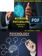 Business Psychology Ppt New