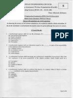 Senior Registered Engineer -Examination (AM)