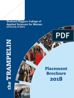 Placement Brouchure 2018