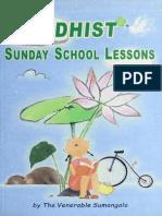 977. Buddhist Sunday School Lessons