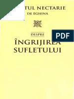 Sf. Nectarie de Eghina - Despre Îngrijirea Sufletului