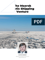 The Maersk Arctic Shipping Venture
