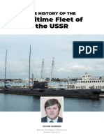 The History of the Maritime Fleet of the USSR
