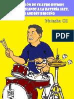 Adaptacion de cuatro Ritmos Afrovenezolanos en la bateria por Andres Briceño