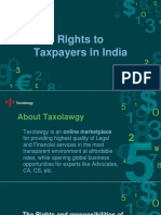 Rights of tax payers in india | Rights and Responsibilities of Taxpayers India