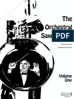 the orchestral saxophonist