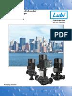 Lubi Vertical Inline Pumps LVI-LVS
