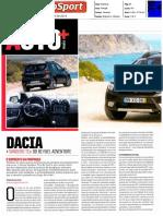 """DACIA SANDERO TCe 90 BI-FUEL ADVENTURE NO """"AUTOSPORT"""""""