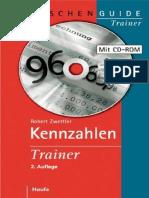 Zwettler, Kennzahlen Trainer