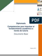 Competencias para impulsar el fortalecimiento académico a través de la tutoría