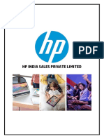 HP Inc Case Study