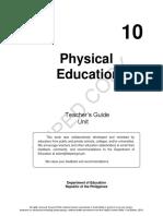 Physical Education 10_Unit 2 (TG)
