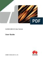 1-7110002-HUAWEI 9000 HD Video Terminal User Guide(V100R007_05,English)