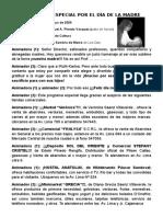 PROGRAMACIÓN 2009 - DÍA DE LA MAMÁ.doc