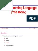 TCS MCQs