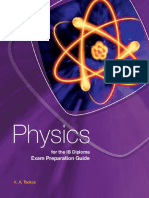 Physics - Exam Preparation Guide - K.a. Tsokos - First Edition - Cambridge 2012