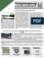 Informativo Paróquia Santa Luzia PB Julho