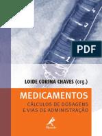 Medicamentos Cálculo de Dosagens e Vias de Administração