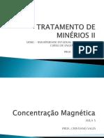 5 - Tmii - Concentração Magnética (Cristiano)
