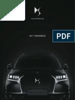 Catálogo Modelo ds automóvil