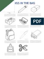 Things in the Bag