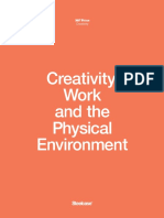 Creativity, work and the environment