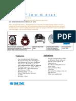 SHM Sewage Flowmeter
