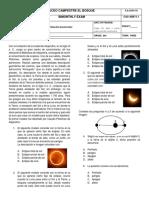 Fisica 8 - Periodo 3 Kepler y Planetas