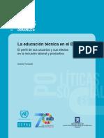 La Educación Técnica en El Ecuador