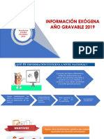 Cartilla Información Exógena