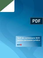Comisionae BCR
