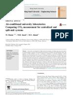 Pua, L., et al. 2006. Assessment and improvement of air quality of air-conditioned ship cabins. De La Salle University undergraduate thesis. [