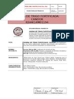 Ficha Técnica de Candor