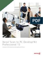 Xerox Scan to PC Desktop Professional 13 Brochure