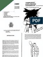 Terrorist Explosives Handbook Vol. 1 the IRA Jack Mcpherson Text