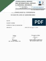 Contoh flight doc meteorologi