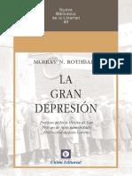 Murray N. Rothbard - La Gran Depresión.pdf