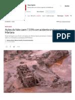 Ações Da Vale Caem 7,55% Com Acidente Em Barragem de Mariana _ EXAME