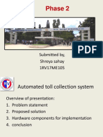 RFID toll collection
