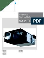 Heat recovery daikin VAM unit
