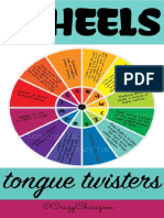 Wheel of Tongue Twisters