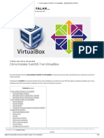 ▷ Cómo Instalar CentOS 7 en VirtualBox - [2019] PASO A PASO