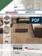 Catalogo e manuale betonella
