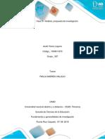 Fase 3 – Análisis-propuesta de Investigación-Audry - Yireny