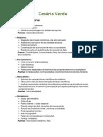 Resumo — Cesário Verde