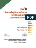 Modelo de Requisitos para Sistemas Informatizados de Gestión Archivística de Documentos
