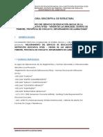 1. Memoria Descriptiva - Estructuras - Pimentel