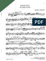 sonata trompeta stevens