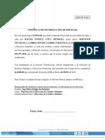 2019-02 - R-029 FORMATO - Certificacion de Prestacion de Servicios PARCIAL DIRH-RH-R-20