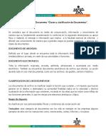 """AA2-EVIDENCIA 2 Documento """"Clases y Clasificación de Documentos"""